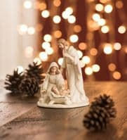 Irish Belleek Holiday Christmas Nativity Small